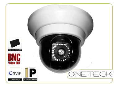 A Mini Speed Dome 5MP SD53018S IR Led, Day&Night,Auto Motion Traking,Vandal Proof, PoE